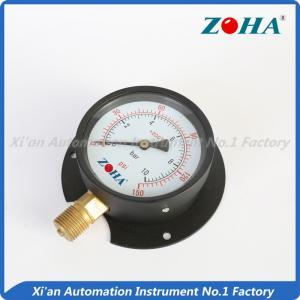 bottom panel mounting pressure gauge meter