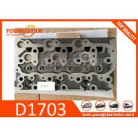 Buy cheap Diesel Engine Cylinder Head For Kubota D1703B and D1703A  New type and Old type from wholesalers
