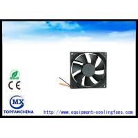Buy cheap High Speed 63.73 CFM Exhaust Fan / Metal Brushless Cooling Fans 92 mm X 92 mm X 25 mm product