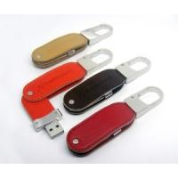 Connect Removable Media Usb Flash Drive Leather Case Brown Black Color
