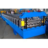 China Aluminum Steel Tile Roll Forming Machine For Wall Building Material on sale