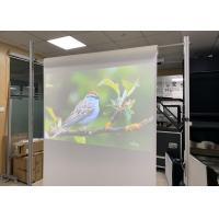 Buy cheap 1.52 x 30 Meter Transparent Holographic Foil for Rear Projection on Glass product