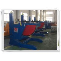 Buy cheap Tilting Pipe Rotary Welding Positioners Adjustable With Slewing Bearing product
