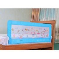 Buy cheap Fold Down Extra Long Adjustable Bed Rails / Blue Child Bed Safety Rails product