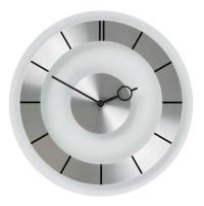 Buy cheap ETG8812BW glass wall clock product