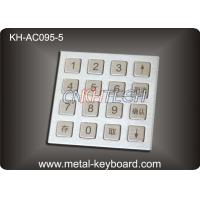 Buy cheap 4 X 4 Matrix Door Access Keypad with Rugged Stainless Steel Material product