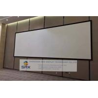 Buy cheap Large Custom Size Fixed Frame Screen 4K Cinema Projection Screens 10x4 Meter product