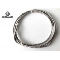 Buy cheap Thermocouple Type J Extension Compansation cable Fiberglass SS304 Sheath 24AWG from wholesalers