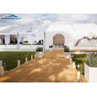 Buy cheap 300 Seater Transparent Luxury Wedding Tent For Outdoor Marquee With Decrotation from wholesalers