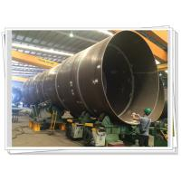 Buy cheap Steel Tube Tower Wind Turbine Several Pipes Fit Up Welding Station product