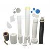Buy cheap Sintered Porous Polyethylene PE Hdpe Resin Filter from wholesalers