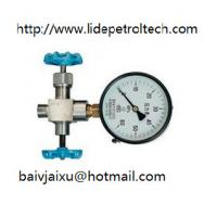 Buy cheap 3-way needle valve for manometer,gauge valve,instrument valve product
