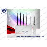 Buy cheap Handheld Cell Phone Jammer Kit 3G GSM CDMA 5 Antenna 33W Energy Consumption product