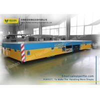 Buy cheap Trackless Transfer Bogie Electric Trailer Trolley Low Noise Easy Operation from wholesalers