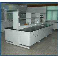 China Chemical Resistant Modular Laboratory Furniture , Lab Bench Table 19mm Epoxy Resin on sale