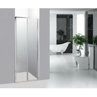 Buy cheap Straight Bathroom Shower Enclosures Double Pivot Shower Doors product