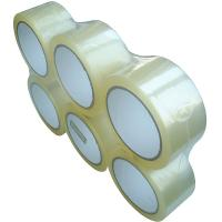 Buy cheap South Africa Market Clear 45mic 48mm 100y BOPP Adhesive Packing Tape For Carton Sealing Usage product
