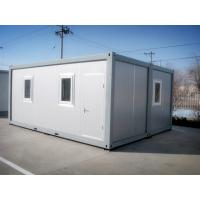 China Cerulean Novel Shipping Container Mobile Home Stable With Double - Glazing Window on sale