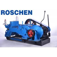 Buy cheap Industrial Triplex Piston Drilling Mud Pump for Oil Line / Geothermal , 55 KW NB-390-8 product