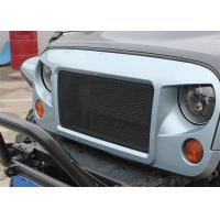 China Rugged Ridge Spartan Grille System Chrome Car Grilles for 07-17 Jeep Wrangler & Wrangler Unlimited JK on sale