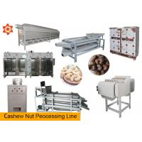Buy cheap 150 - 200kg/H Nut Processing Machine 220 / 380v Voltage 12 Months Warranty product