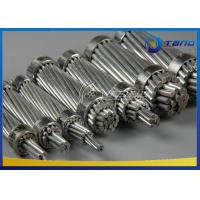 China Grey Color Overhead Line Conductor Variable Steel Core Stranding High Precision on sale