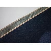 Buy cheap 7 * 7 Indigo 100 Cotton Denim Fabric By The Yard , Shrink Proof Cotton Jeans Cloth product