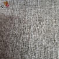 Buy cheap Simulated linen polyester fabric for sofa cushions product