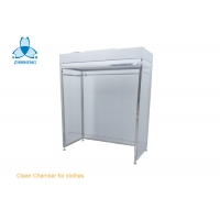 Buy cheap SS304 Frame Clean Room Equipment With Anti Static PVC Curtain product