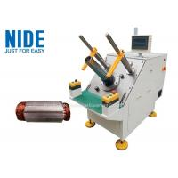 Buy cheap NIDE Semi-auto Single phase stator winding inserting machine for micro induction motors product