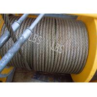 Buy cheap Three Layers Spooling Winch Drums with Lebus Grooving for Lifting Area product