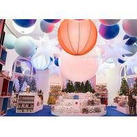 China 1.6M  Inflatable Lighting Decoration 240W , Led Hanging Outdoor Christmas Snow Globe Lights on sale