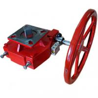 Buy cheap Red Pneumatic Valve Accessories Manual Declutchable Manual Override Gearbox product