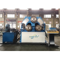 Buy cheap 3 Rolls Angle Steel 2000mm Hydraulic Pipe Bending Machine product