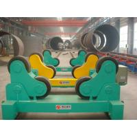 Buy cheap Automatic Welding Turning Roll / Pipe Rollers PU Wheel For Vessel product