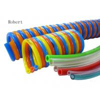 Buy cheap Metric Polyurethane Pneumatic Air Tubing Durable Stretch Out Draw Back Freely product
