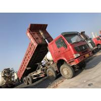 Buy cheap 15ton Gross weight Second hand howo brand left handle driving 40ton  dumper truck product