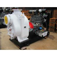 Buy cheap Agricultural Irrigation Diesel garden Mobile two wheel trailer Pump product