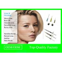 Buy cheap Microbial Fermentation Injectable Hyaluronic Acid Gel For Wrinkles Facial Surgery Dermal Filler product