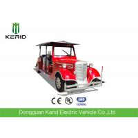 Buy cheap Elegant Classic Design Red Color Vintage Club Car 4 Row For 11 Passenger product