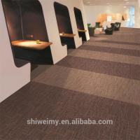 Buy cheap Multi level loop striped pattern Nylon6 carpet tile for office product