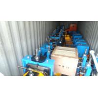 China Adjustable Tube Rolling Mill , Welding Tube Mill Equipment Friction Saw Cutting on sale