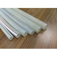 Buy cheap Colorful Crystal PVC Braided Hose Pipe Tube Anti Abrasion For Transport Water product