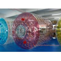 Buy cheap Commercial Polyether TPU Jumbo Inflatable Water Roller Inflatable water ball from wholesalers