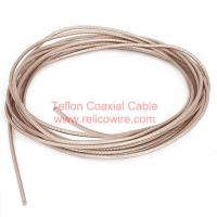 Buy cheap SFB: Solid PTFE Insulation, PTFE Tap Wrapped Fiberglass Jacket RF Coaxial Cable product