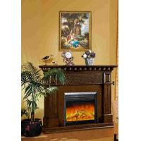 Remote Control Antique Fireplace Mantel Home Classic