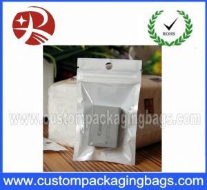Buy cheap Ziplock Plastic Hanger Bags for Battery , Recycled  plastic bag hanger from wholesalers