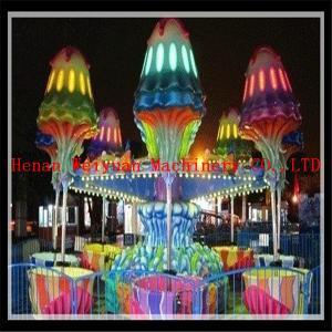 Buy cheap Amusement park portable mini happy jellyfish rides product