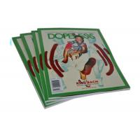 Buy cheap Full Color Art Paper Custom Magazine Printing Saddle Stitch Magazine Printing product