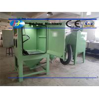 Buy cheap Electricity Source 220V 50Hz Industrial Sandblast Cabinet For Sandblasting Molds product